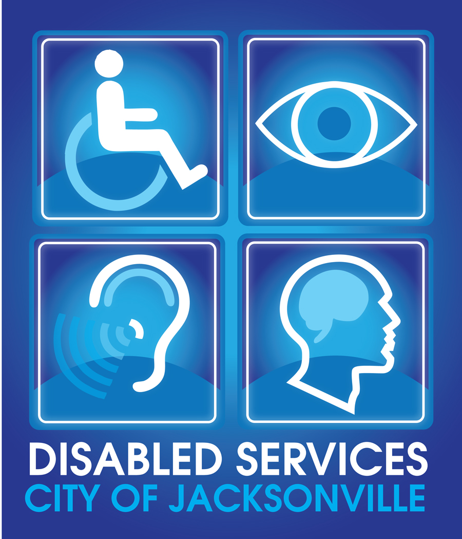 City of Jacksonville Disabled Services Logo