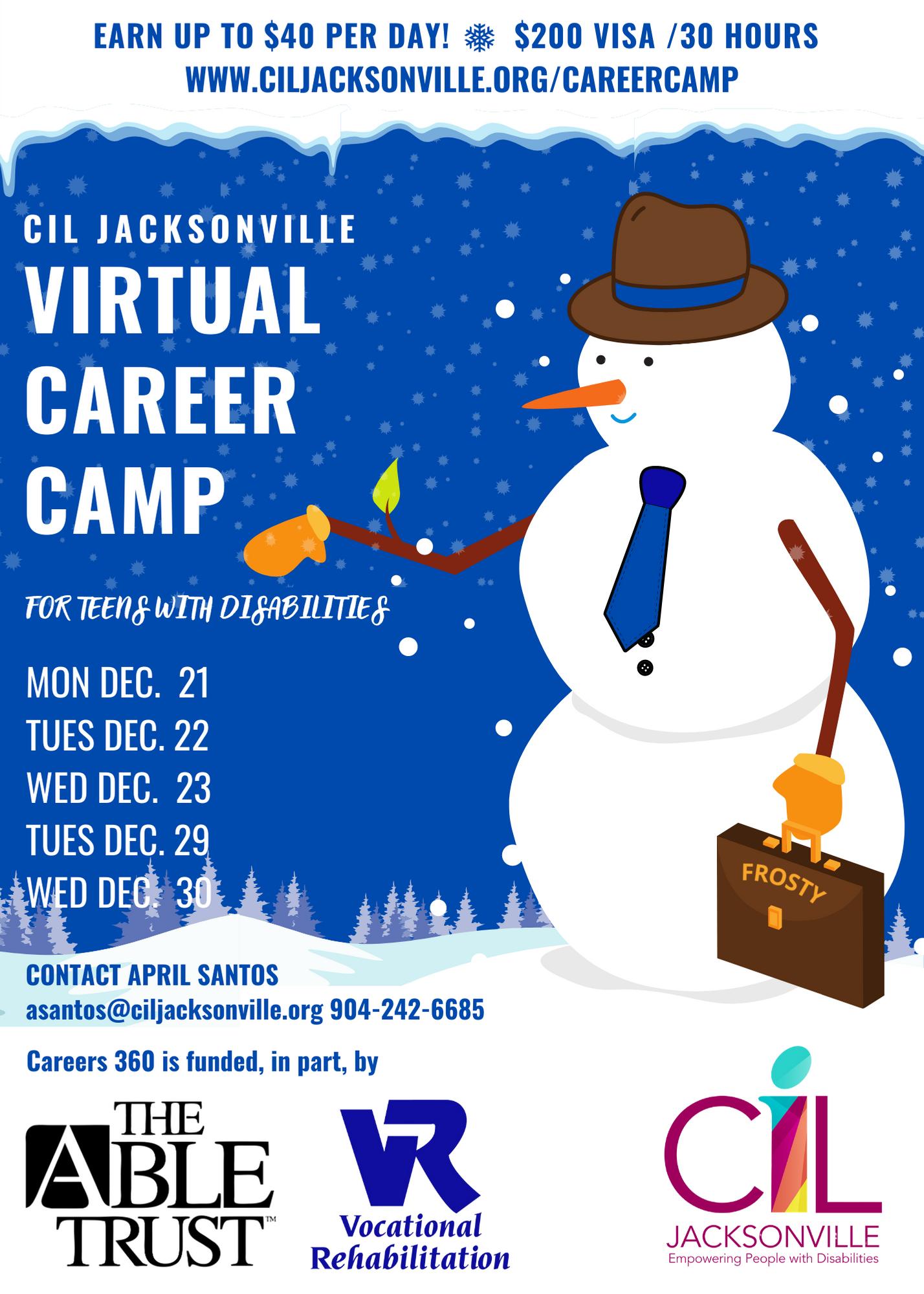 CIL Jacksonville Virtual Career Camp